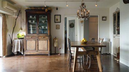 DIYで異空間を創造  アンティークが似合う 空間を創り上げる悦び