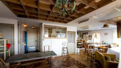アンティークが似合う家空間が持つ歴史を生かしたリノベーション