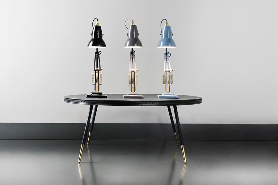 Original 1227™ Brass(ディープスレート・エレファントグレー・ダスティブルー) シェードφ142 H216mm アームリーチ626mm 各¥52,000