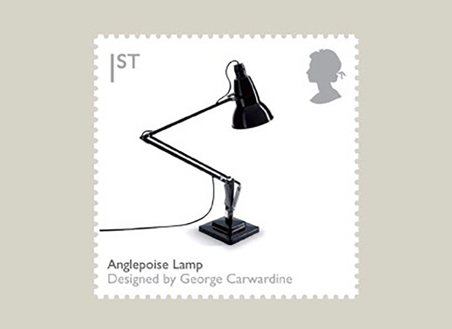 英国郵政社ロイヤルメールの記念切手に。