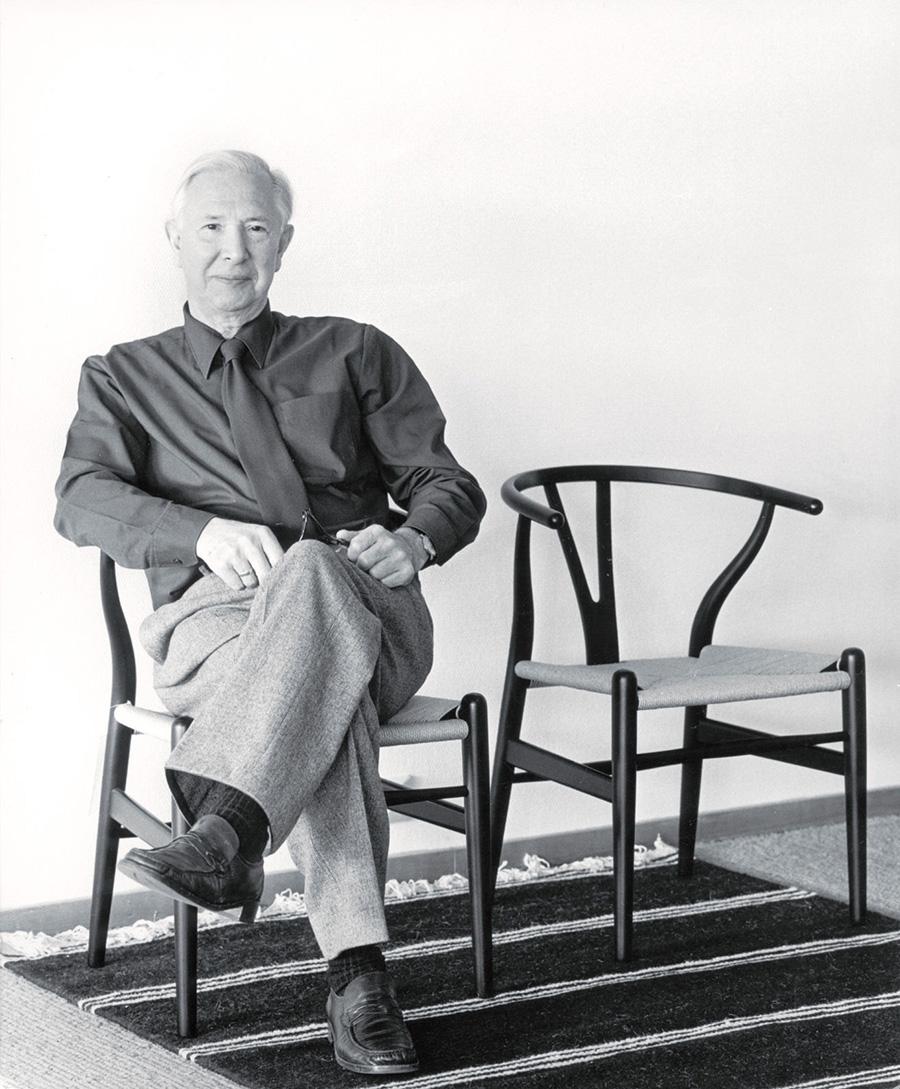 ハンス J. ウェグナー <1914 - 2007> デンマークを代表する家具デザイナー。
