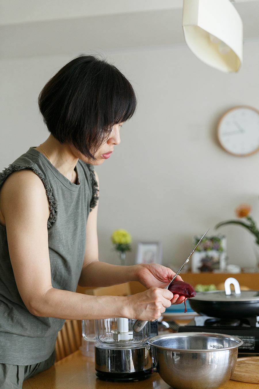 料理教室は、2〜3名のグループレッスンで行うことが多い。