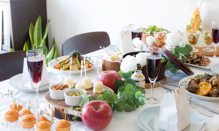 ホームパーティーのアイデアPart1ゲストを満足させるPartyテーブルのつくり方