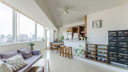 自宅で楽しむ豊かな時間  カフェタイムが潤う リノベ感覚の新築物件