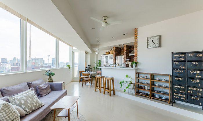 新築を自由にプランニング絶妙の間の取り方にカフェタイムが潤う