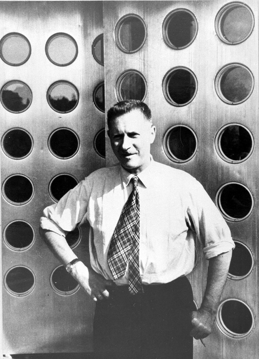 ジャン・プルーヴェ<1901 – 1984>フランス出身の建築家。