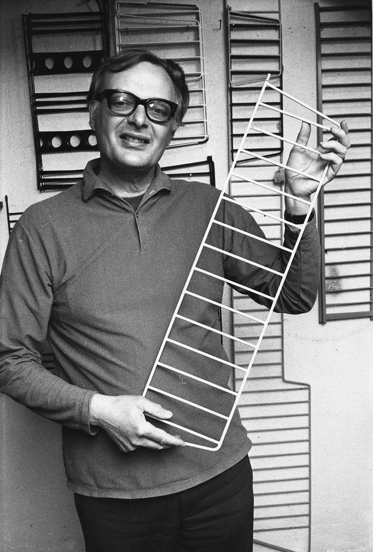 スウェーデンの建築家、ニルス・ストリニング氏。