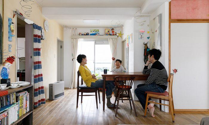 作品が映えるDIY空間アーティスト夫妻のおおらかな住まい