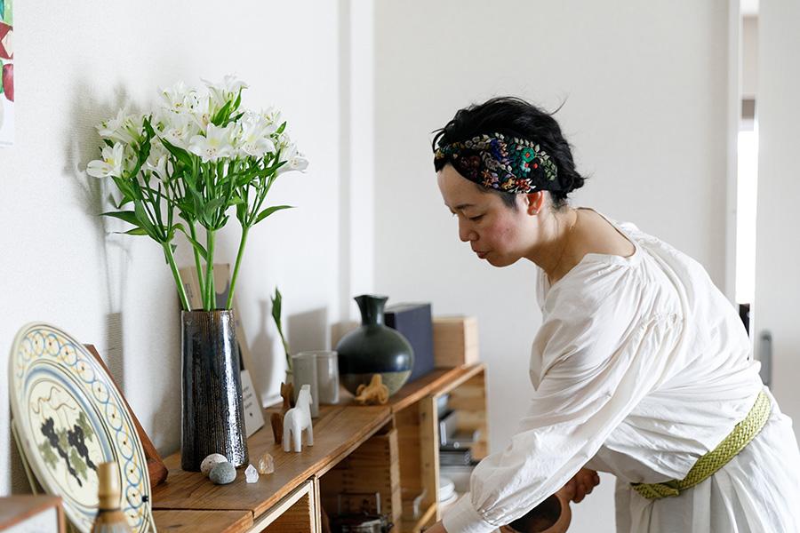 長尾さんは「minokamo」名義で、季節の野菜や地方の魅力的な食材を活かした料理を提案。写真やイラストも自ら手がけるマルチプレーヤー。