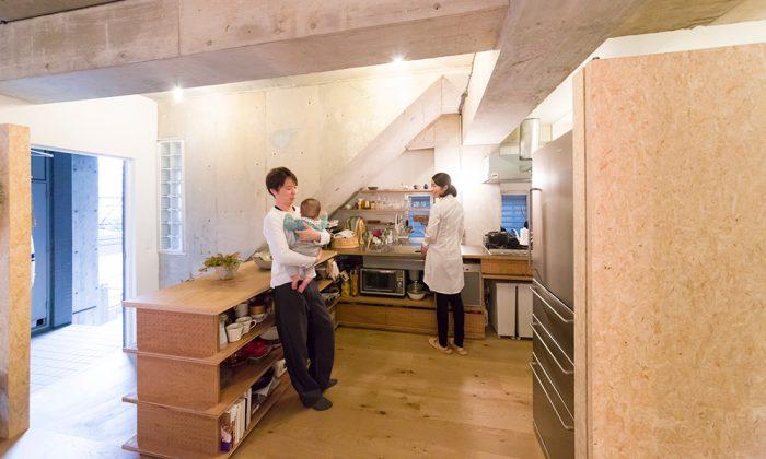 建築家夫妻の渋谷区の住まい大胆な発想で個性を活かすリノベーション