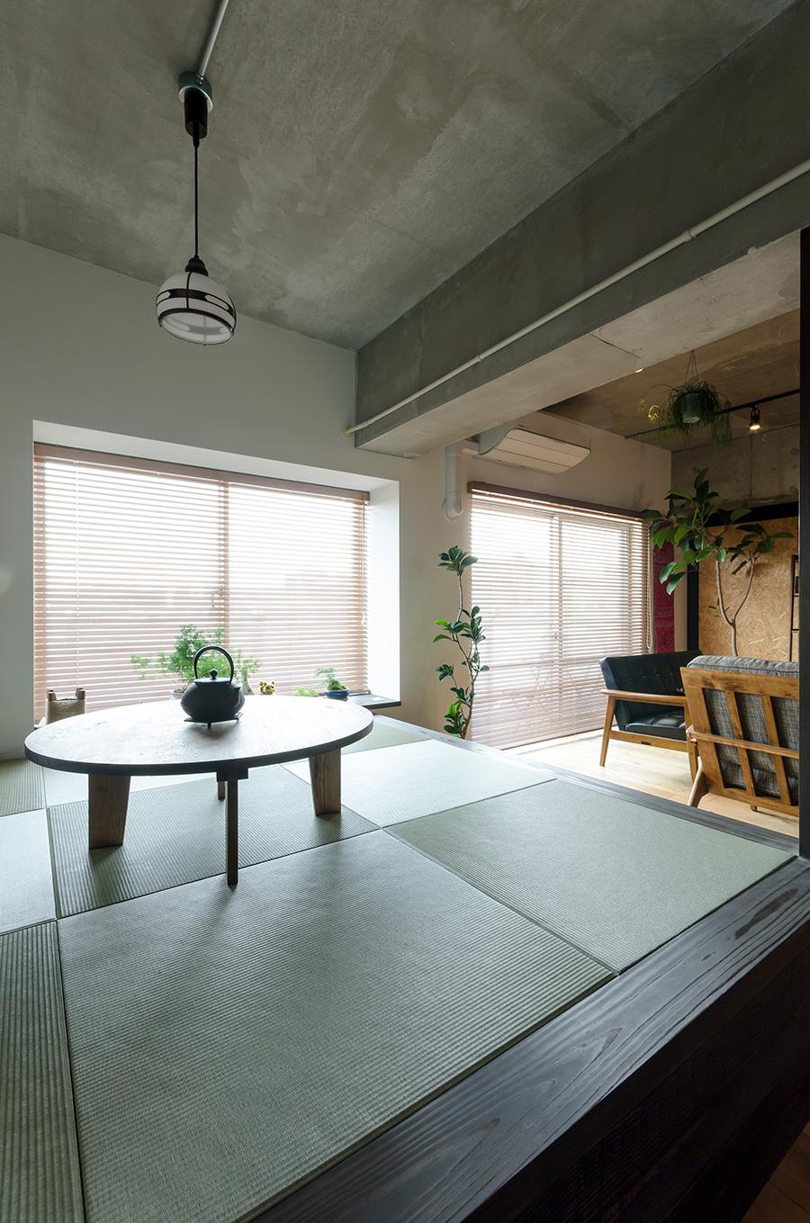 畳の下は収納スペースとして活用できる仕組み。