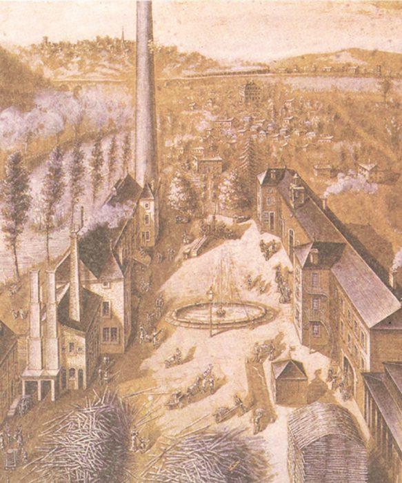 1475年、ラ・ロシェールはフランス東部の町、ロレーヌとフランシュ・コンテの境界で誕生。