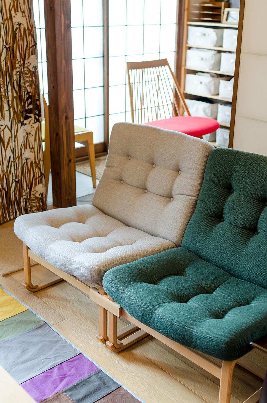 ブルーノ・マットソン氏デザインのソファチェア。