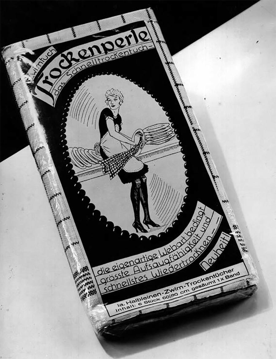 1925年当時のパッケージ。
