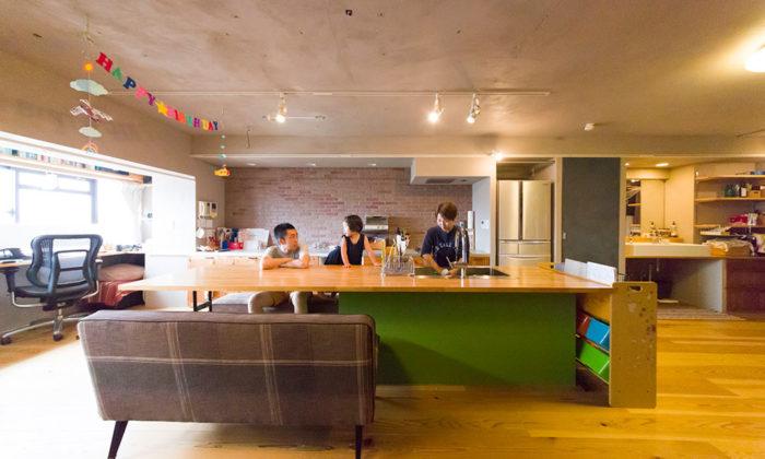 自由に間取りを変えられる家子どもの成長に合わせロフトを動かし個室を作る