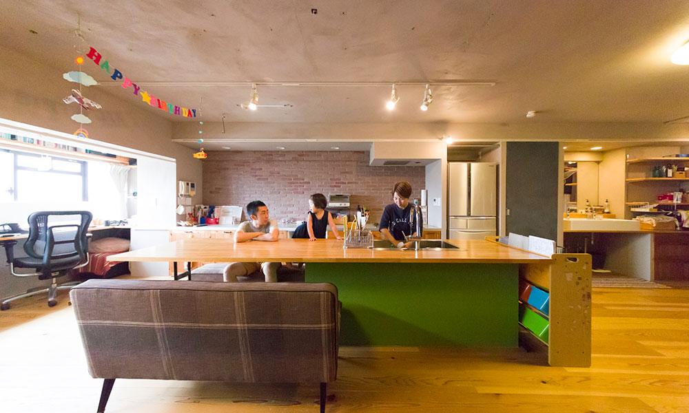 自由に間取りを変えられる家  子どもの成長に合わせ ロフトを動かし個室を作る