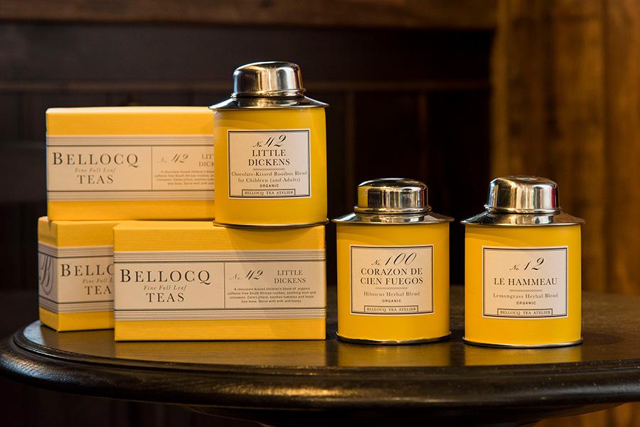 黄色い箱に入ったベロックボックスは、ギフトや引き出物にも人気。No.42 LITTLE DICKENS ベロックボックス 99g ¥2,100