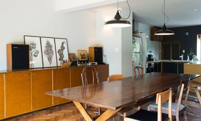 外国人向け集合住宅をリノベ当たり前がかっこいい素材とデザインが生きる部屋