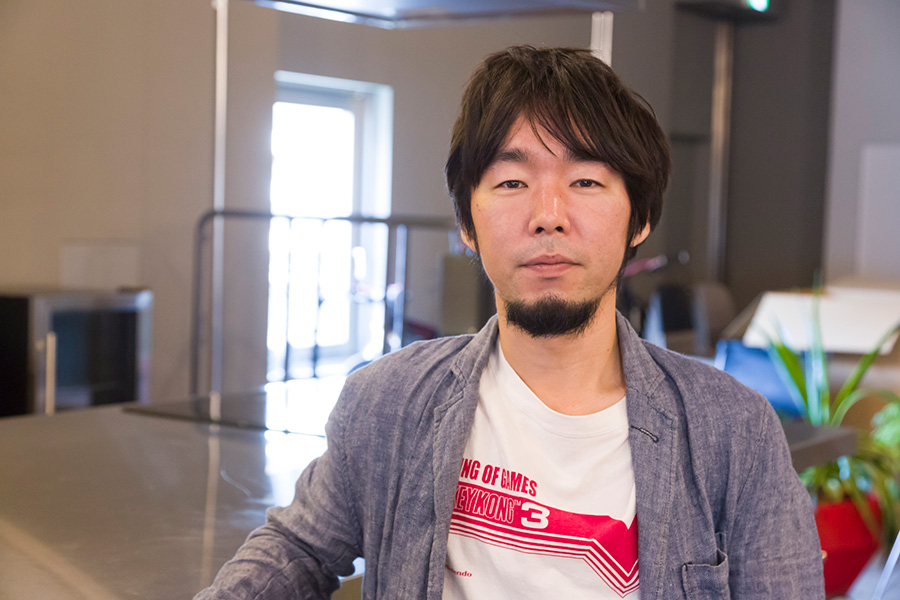 『THROWBACK』プロジェクトを指揮した「オープン・エー」の大橋一隆さん。