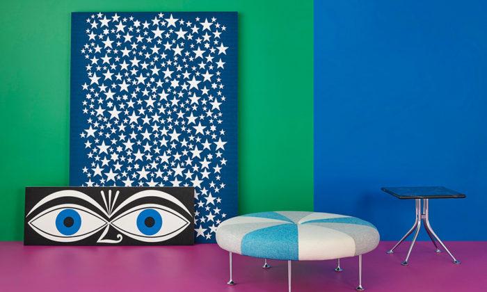 アレキサンダー・ジラードのモダンテキスタイル大胆な色使いと幾何学模様、個性的なモチーフ
