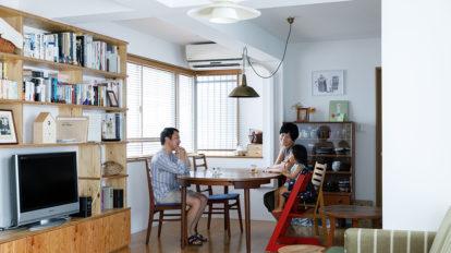 将来の賃貸も視野に普遍的な暮らしやすさを追求するリノベーション