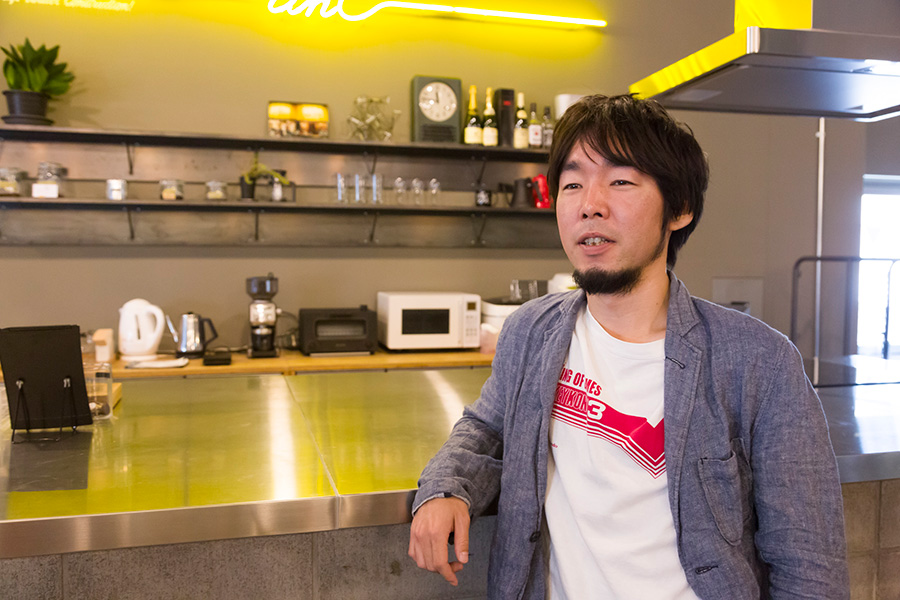 『THROWBACK』プロジェクトを指揮した大橋一隆さん。「一緒にプロジェクトを進めてくれる作り手を大募集中です!」