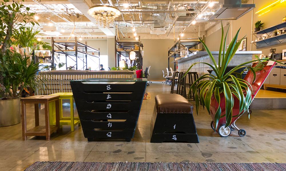 家具のアップサイクル -3  学校やオフィスの廃棄物から 家具を作るアイディア