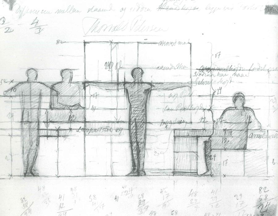 コーア・クリントは、人間工学に基づいたデザインを開発、機能的に過ごせる環境を目指した。