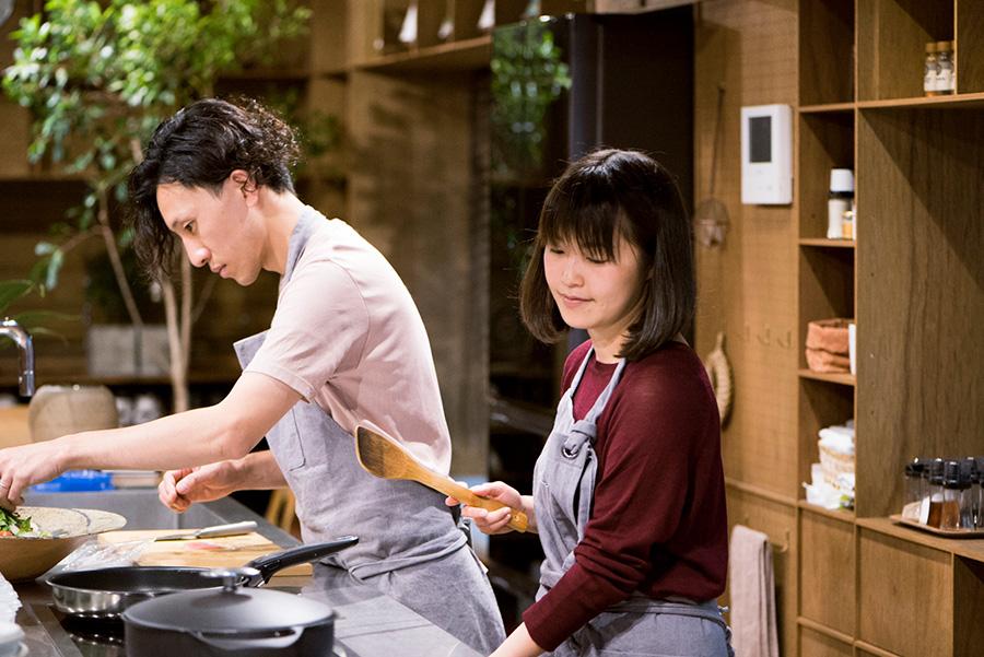 「てとてと」では、料理教室のほか、テーマを持った食事会やワークショップなども開催。