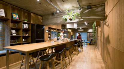 """食を介して人とつながる家日本の""""察する文化""""を大切にモダンと和の融合空間"""