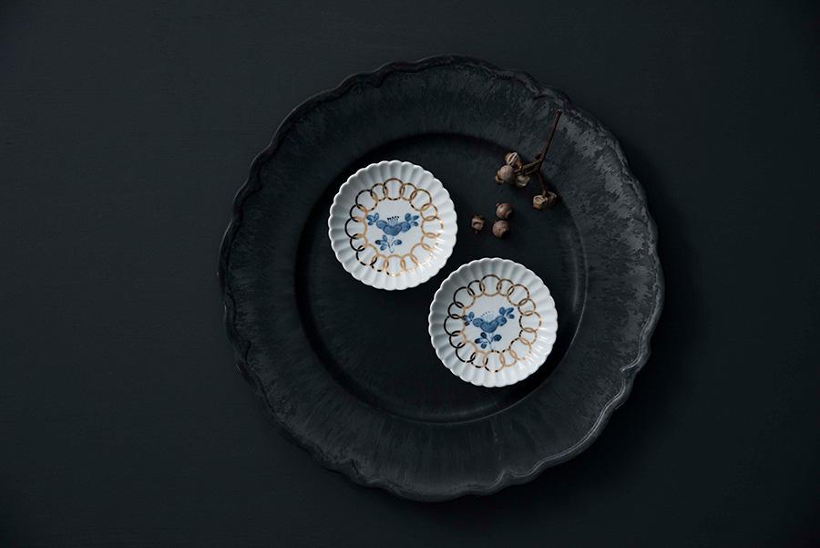 MAME 椿紋輪花 φ95 H18mm 各1,300
