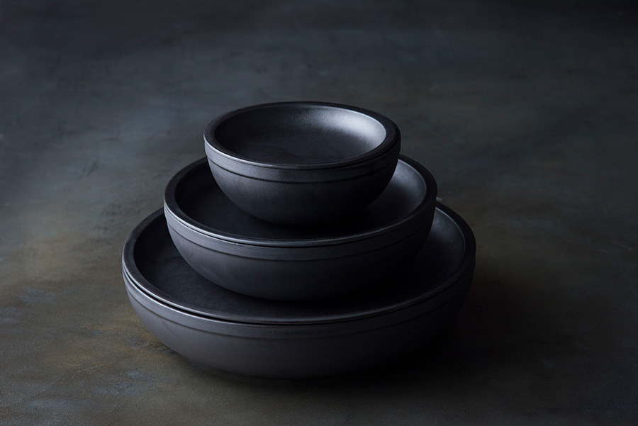 Bowl 140(Black) φ140 H60mm ¥2,400 Bowl 200(Black) φ200 H60mm ¥4,400 Bowl 260(Black) φ260 H60mm ¥8,600