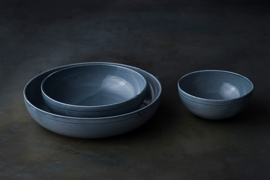 Bowl 140(Gray) φ140 H60mm ¥2,800 Bowl 200(Gray) φ200 H60mm ¥5,200 Bowl 260(Gray) φ260 H60mm ¥10,300