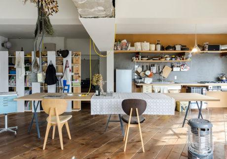 DIYリノベーション建築家が暮らす未完のワンルーム