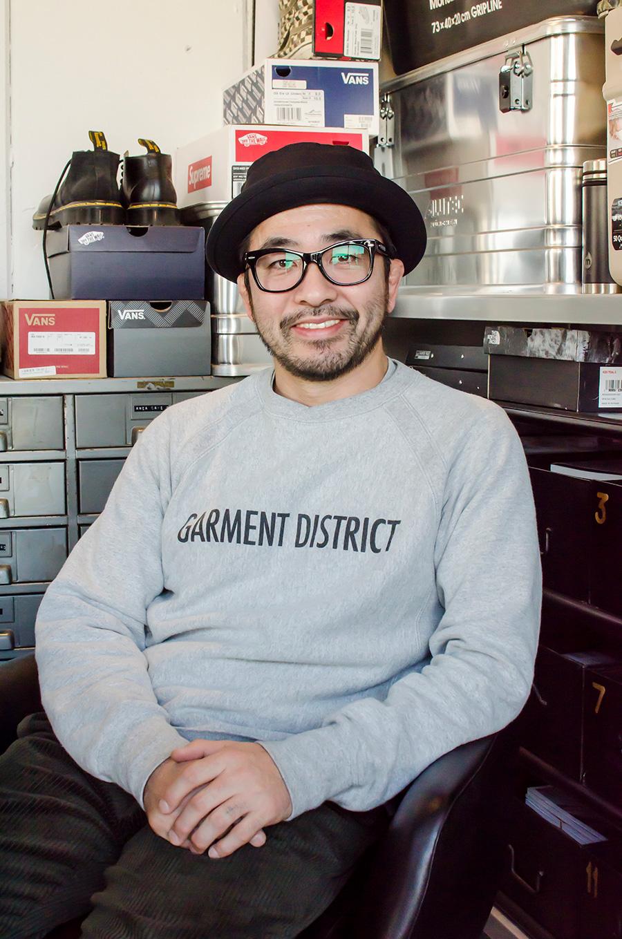 横町健さん。飲食店プロデュース会社「anea design」を創業。2012年にコーデックスと出会う。インスタグラム「aneaken」はフォロワー2万人。
