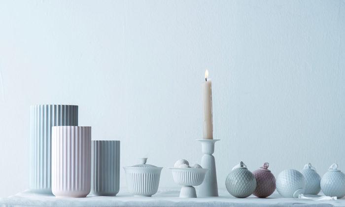 リュンビュー ポーセリンの花器バウハウスの影響を受けたシンプルさと機能美が魅力