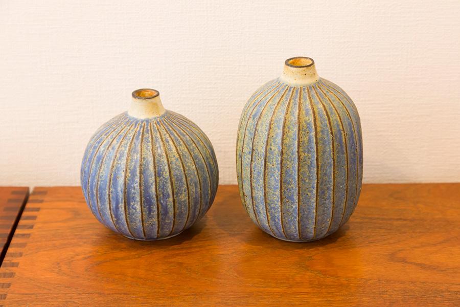 茨城県の笠間の陶芸家、額賀章夫さんの作品にはサンフランシスコで出会った。「僕も茨城県出身なのですが、地元の伝統工芸を海外で発見する貴重な経験になりました」