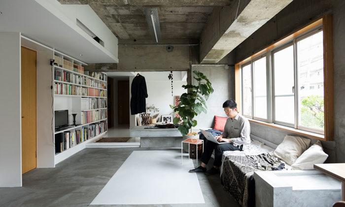 若手建築家のリノベーションスケルトンからの再構築光が生む陰影を楽しむ