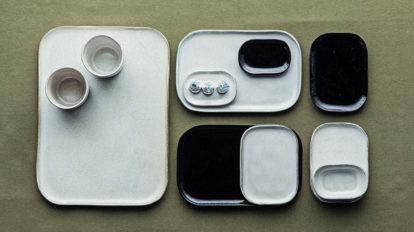 MerciとSERAXがコラボしたテーブルウェア 組み合わせが楽しい シンプルでモードな器