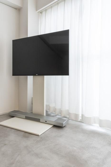 部屋の雰囲気に合わせたスタイリッシュな家電製品。