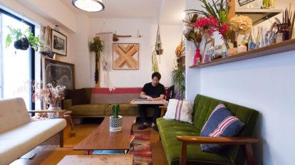人を招く部屋ゲストに喜んでもらえる空間を作りたい