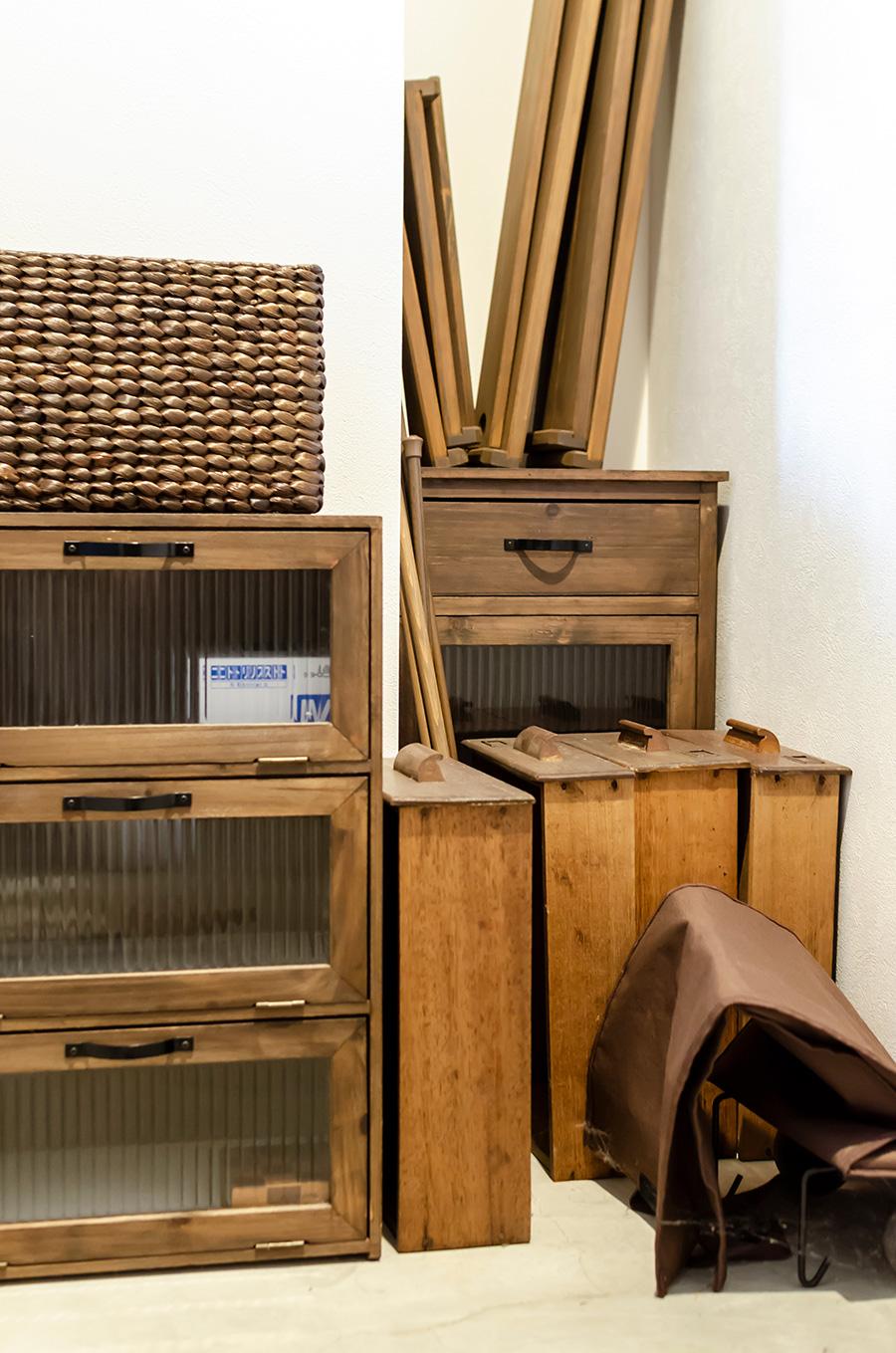 買い集めた古道具は、DIYに使う予定。