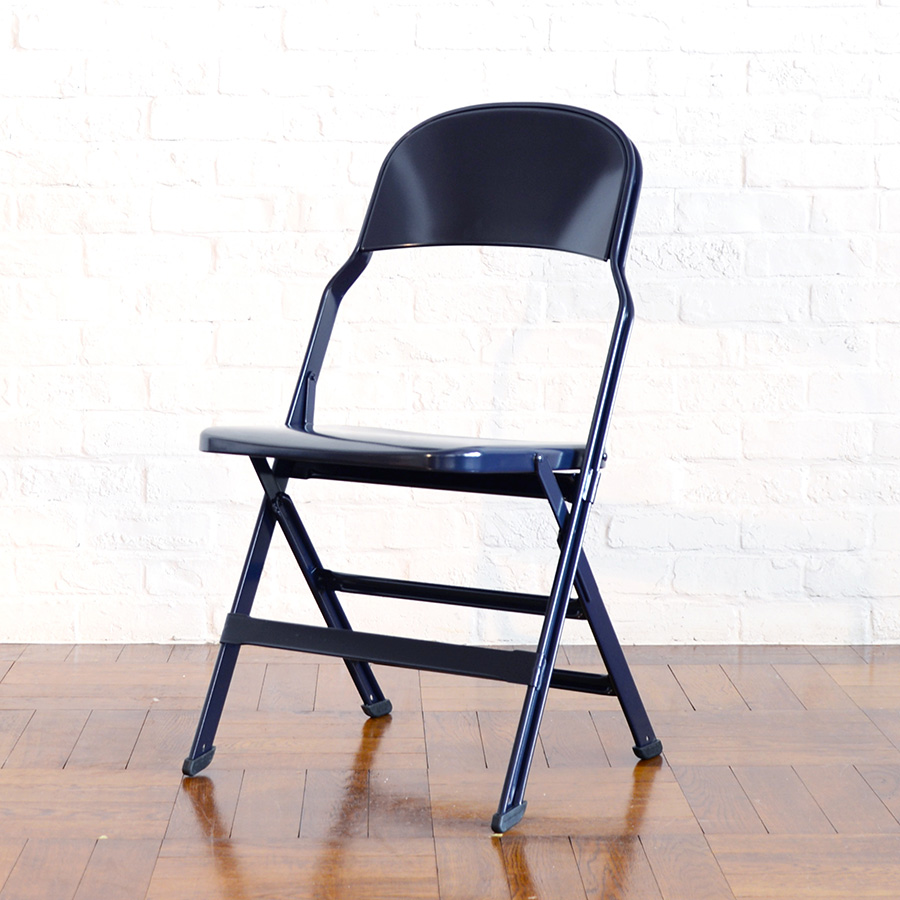 ALL STEEL FOLDING CHAIR W464 D530 H829 SH432mm 各¥15,000