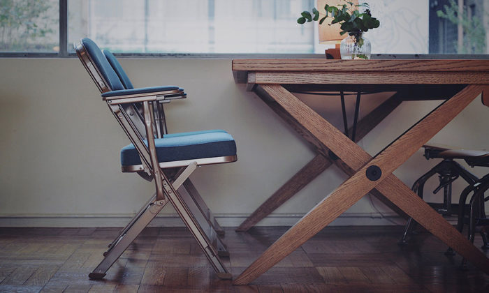 CLARIN FOLDING CHAIR 古き良き アメリカの折畳椅子