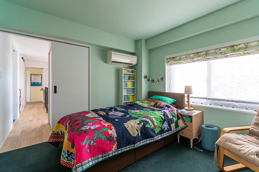 2階ベッドルーム。