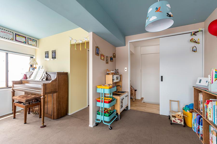 2階奥の子供部屋。