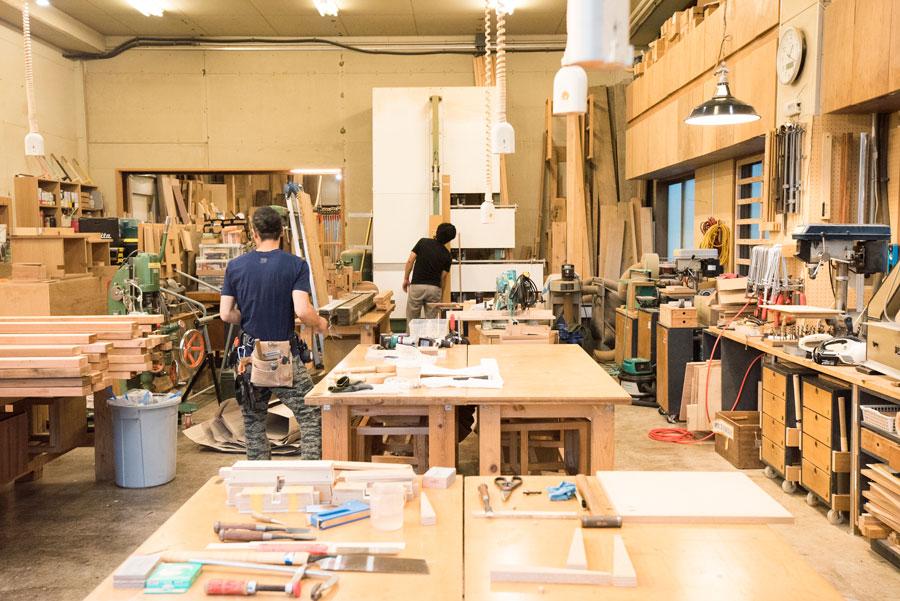 「WOOD WORK CENTER」は、オーダーメイド家具の設計・製造を行う「相談家具屋」が運営。木工教室、ワークショップなどを通して木工DIYライフをサポートしてくれる。
