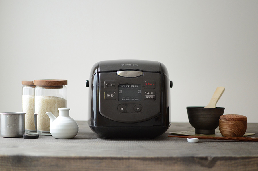 調理家電もレンタル。自動炊飯器ではなく釜で炊くスタイルに変えたら気軽に返却できる。