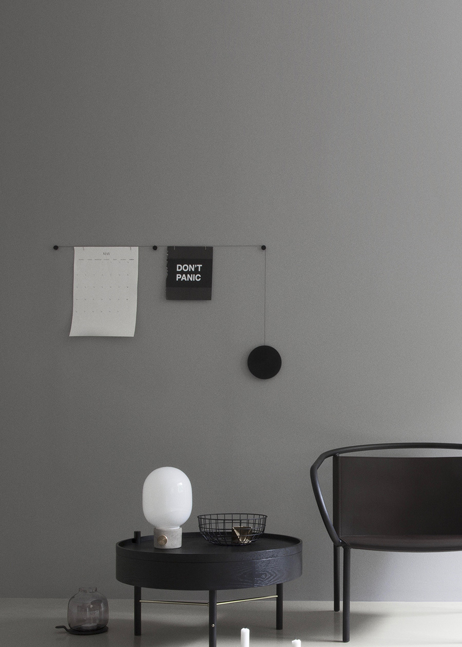 マイスポット (ブラック) φ150mm ワイヤー 1160mm  ブラック  ¥24,000