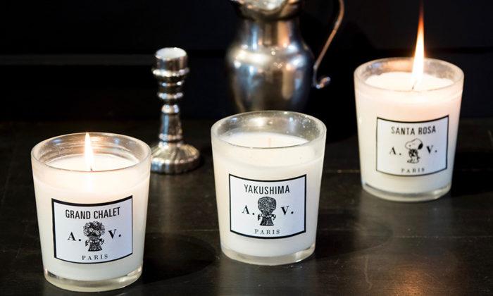 ASTIER de VILLATTEの香りパフュームキャンドルを灯して香りの世界旅行へ